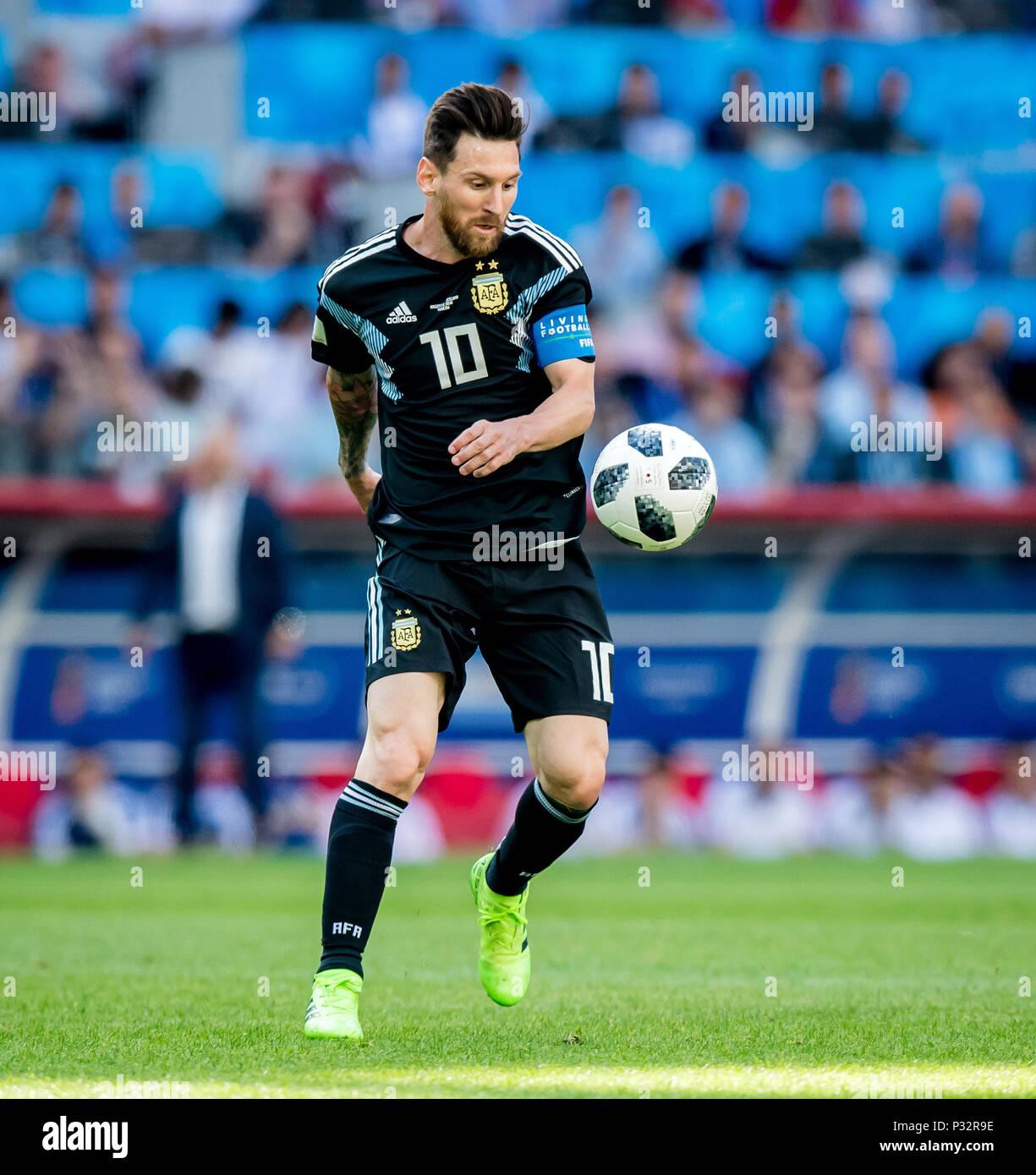 Lionel Messi Argentinien Ges Fussball Wm 2018 Russland