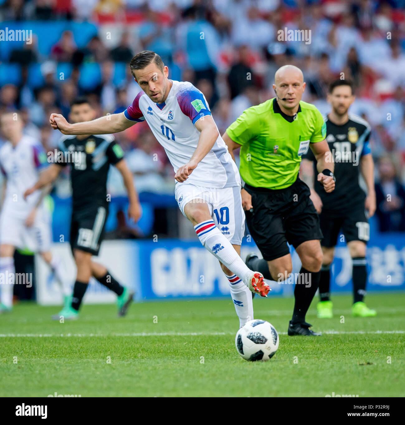 Gylfi Sigurdsson Island Ges Fussball Wm 2018 Russland