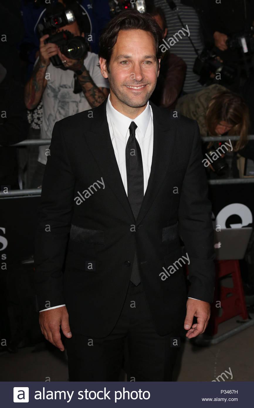 Paul Rudd. Prominente nehmen an der GQ Männer des Jahres Auszeichnungen am Royal Opera House in London. Stockbild