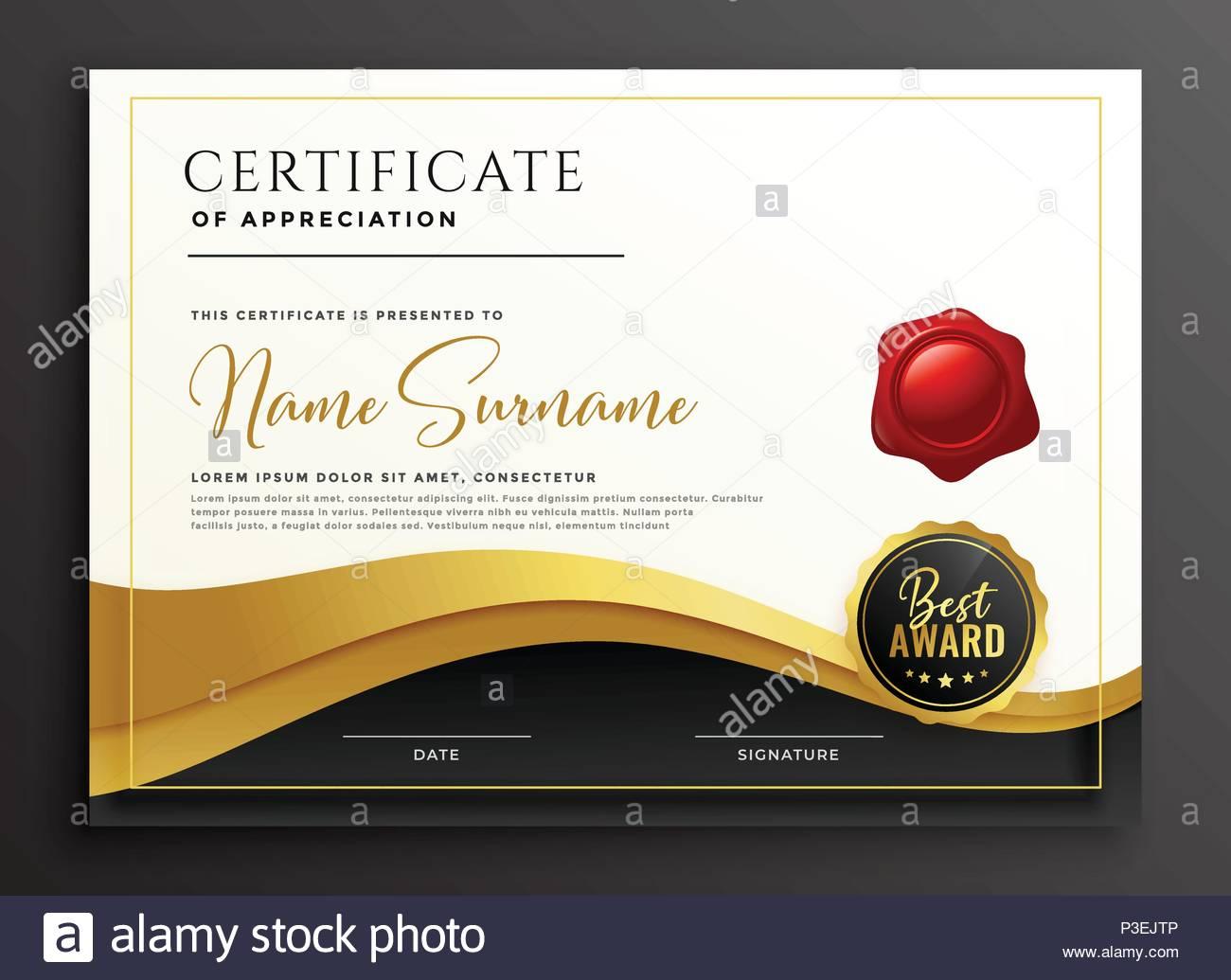Certificate Template Diploma Template Abstract Stockfotos ...