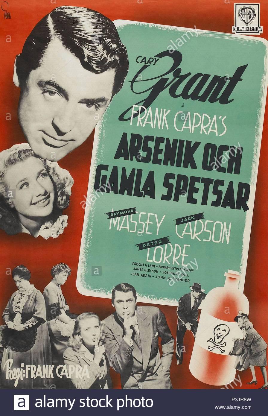 Original Film Titel Arsenic And Old Lace Englischer Titel Arsenic