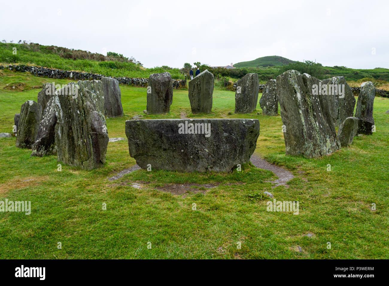 Alten Steinkreis In Irland Drombeg Steinkreis Geglaubt Wurde