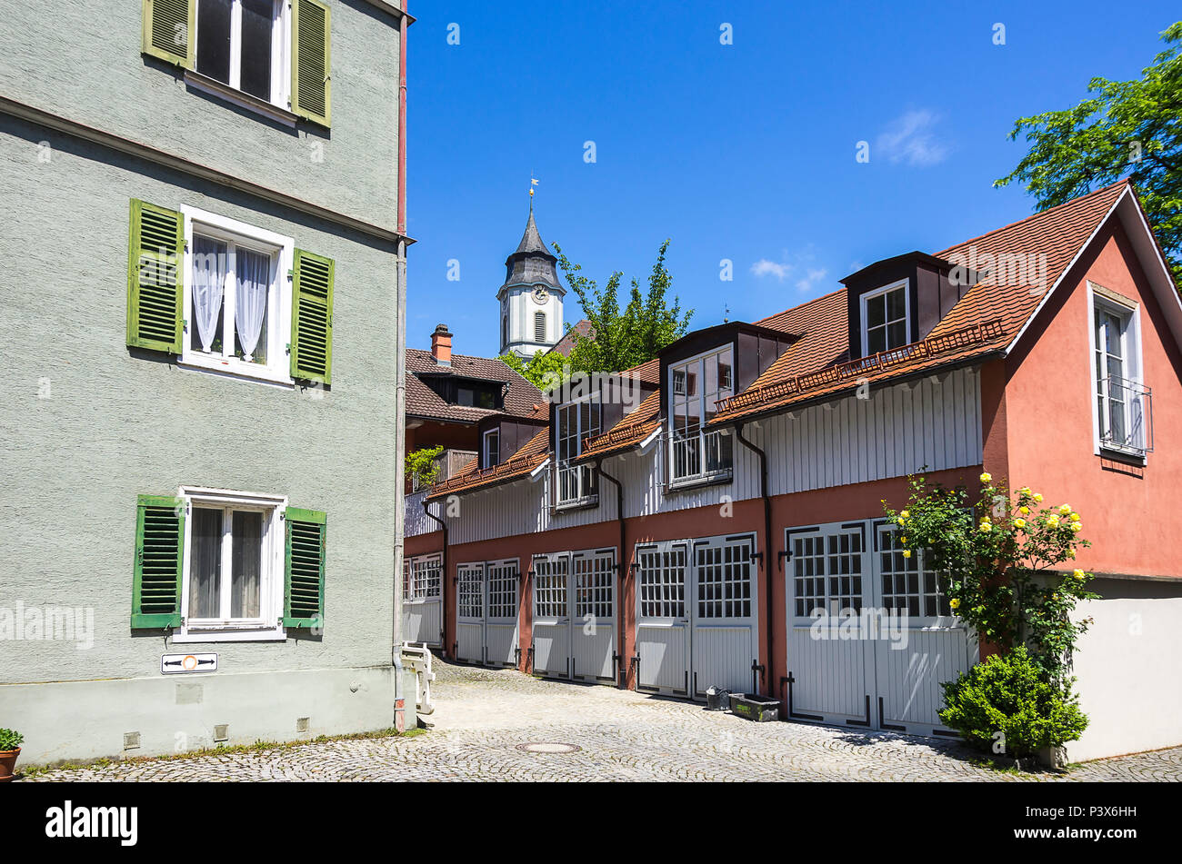 Lindau Am Bodensee Bayern Deutschland Historische