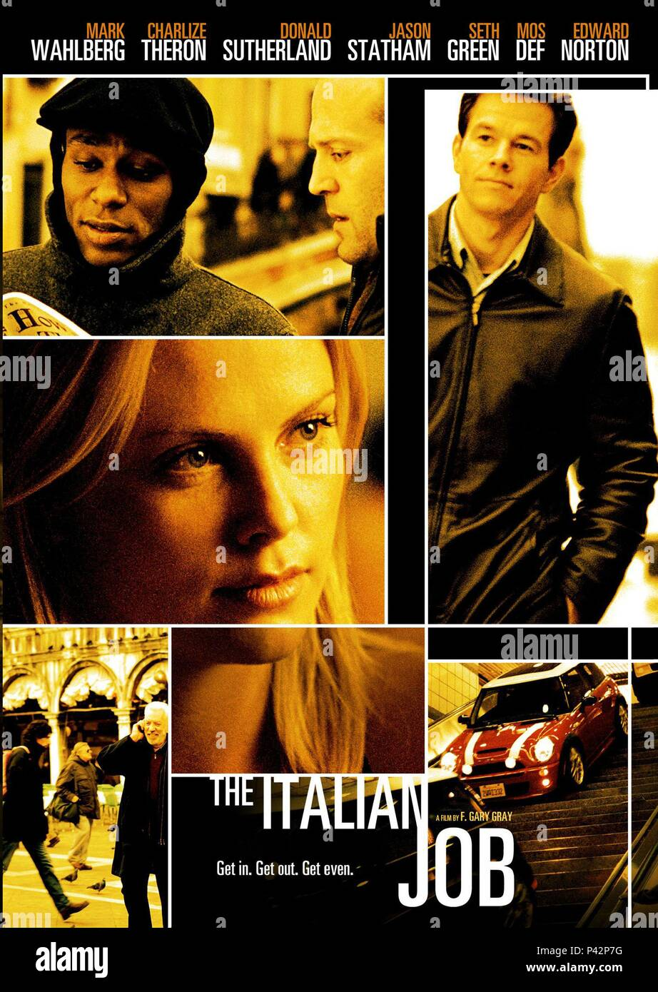Original Film Titel The Italian Job Englischer Titel The Italian