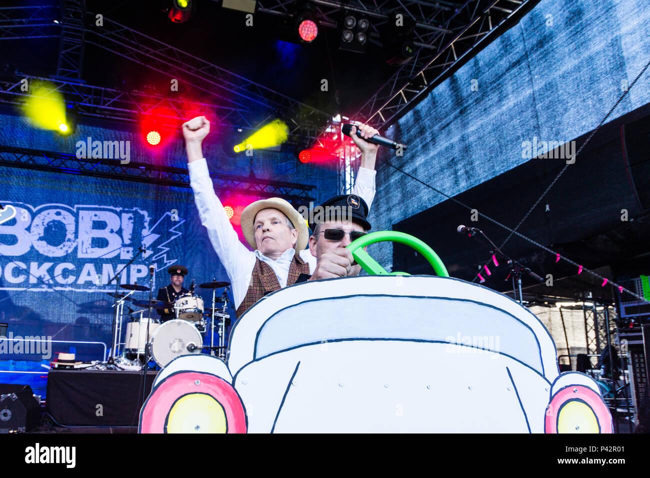 Kiel Deutschland 19 Juni 2018 Die Hannes Wendt Band Auf Der