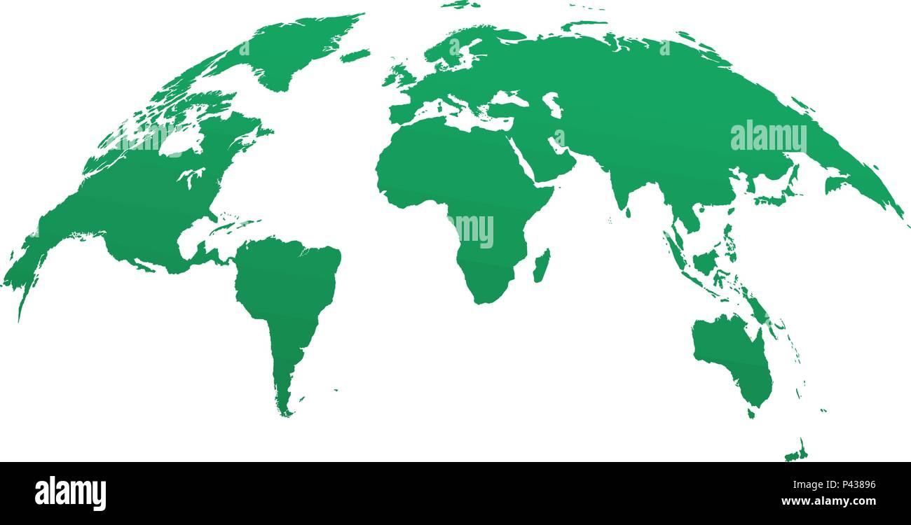 Globus Karte.Globus Karte Vorlage Abgerundet Karte Der Welt Vorlage