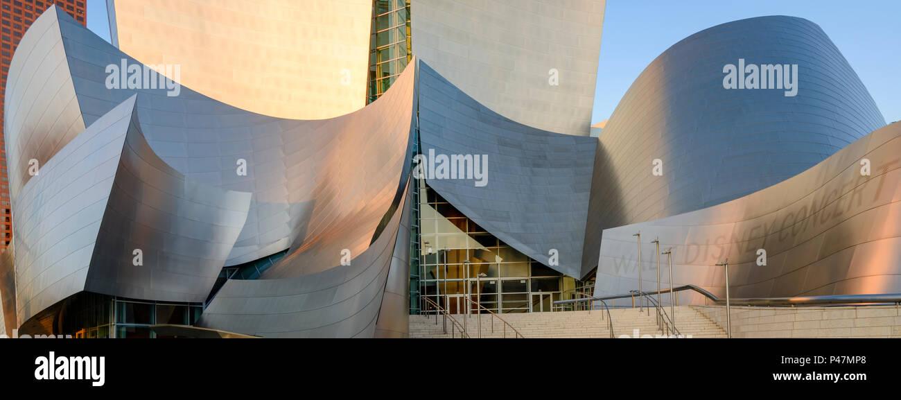 Disney Concert Hall, Downtown Los Angeles, Kalifornien, USA. Stockfoto