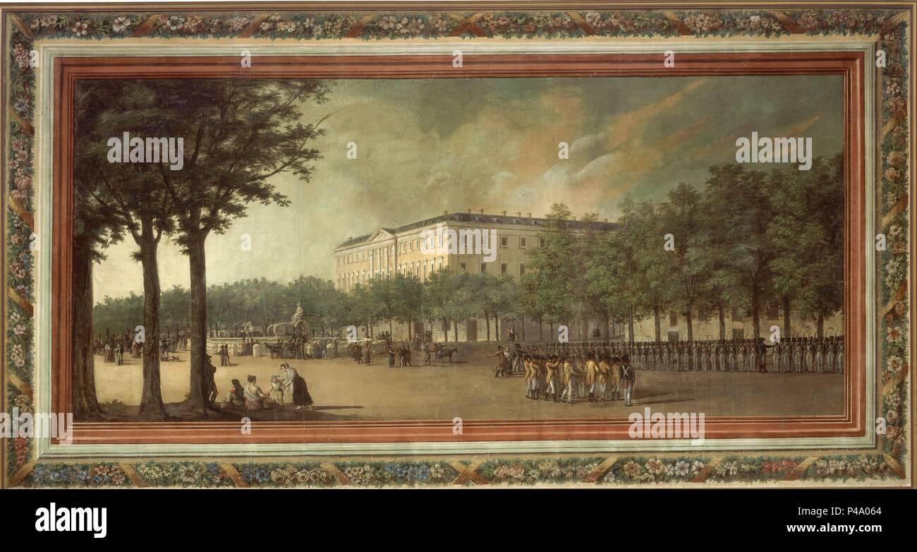 Palacio Buenavista Y Fuente De Cibeles 1816 T Sarga 1 54 X