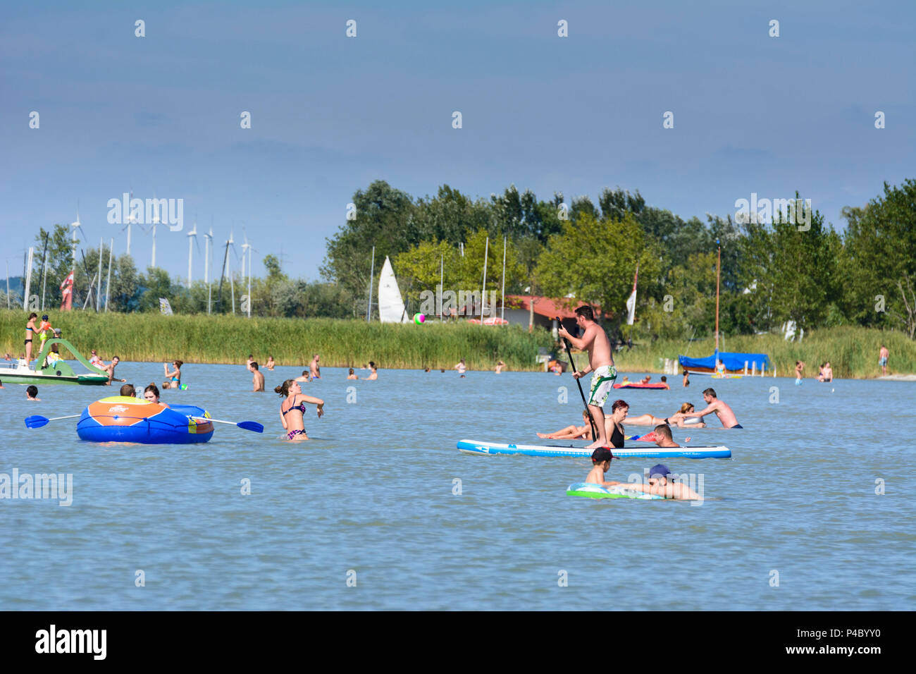 Podersdorf Am See öffentliche Strandbad Lido Neusiedler See