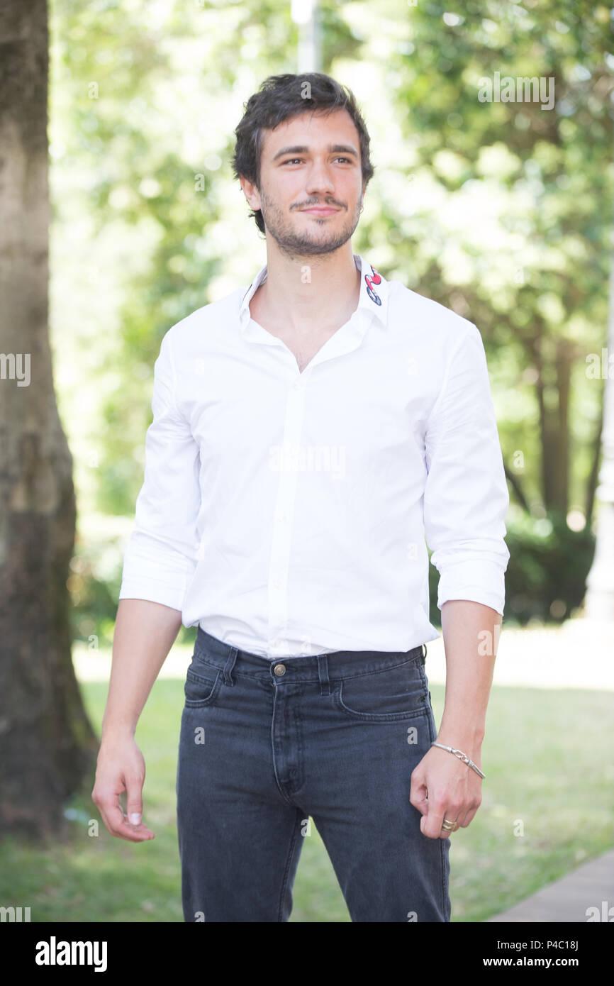 Roma Italien 20 Juni 2018 Italienische Schauspieler Eugenio