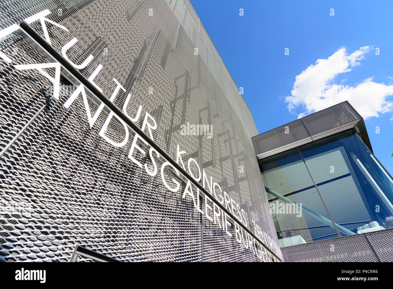 Eisenstadt, Kultur Kongress Zentrum, Kultur Kongresszentrum, Neusiedler See (Neusiedler See), Burgenland, Österreich Stockbild