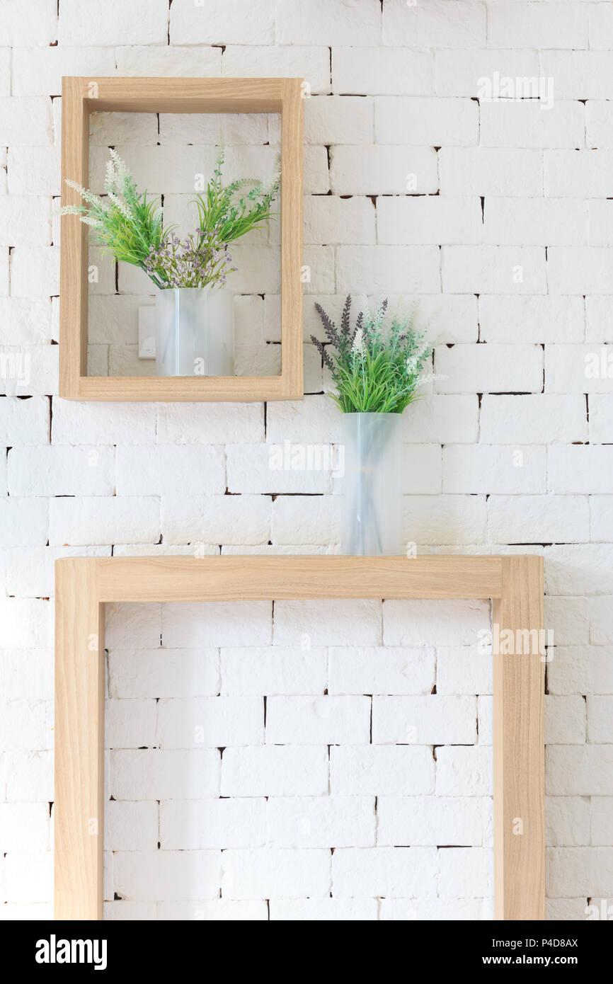 Artificial Brick Wall Texture Stockfotos & Artificial Brick Wall ...