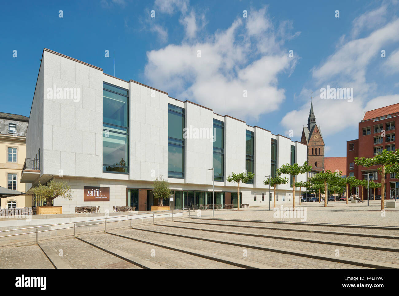Landtag Hannover Stockbild