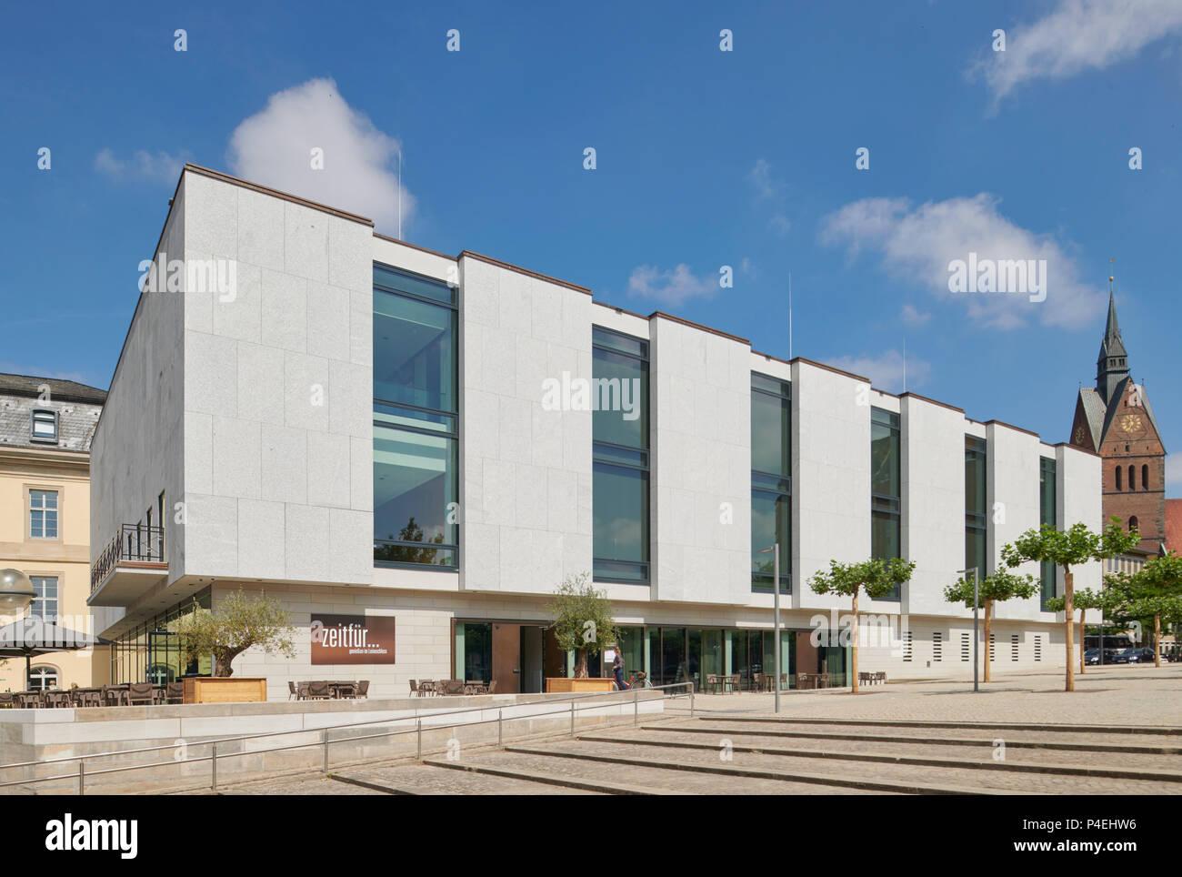 Landtag Hannover Stockfoto