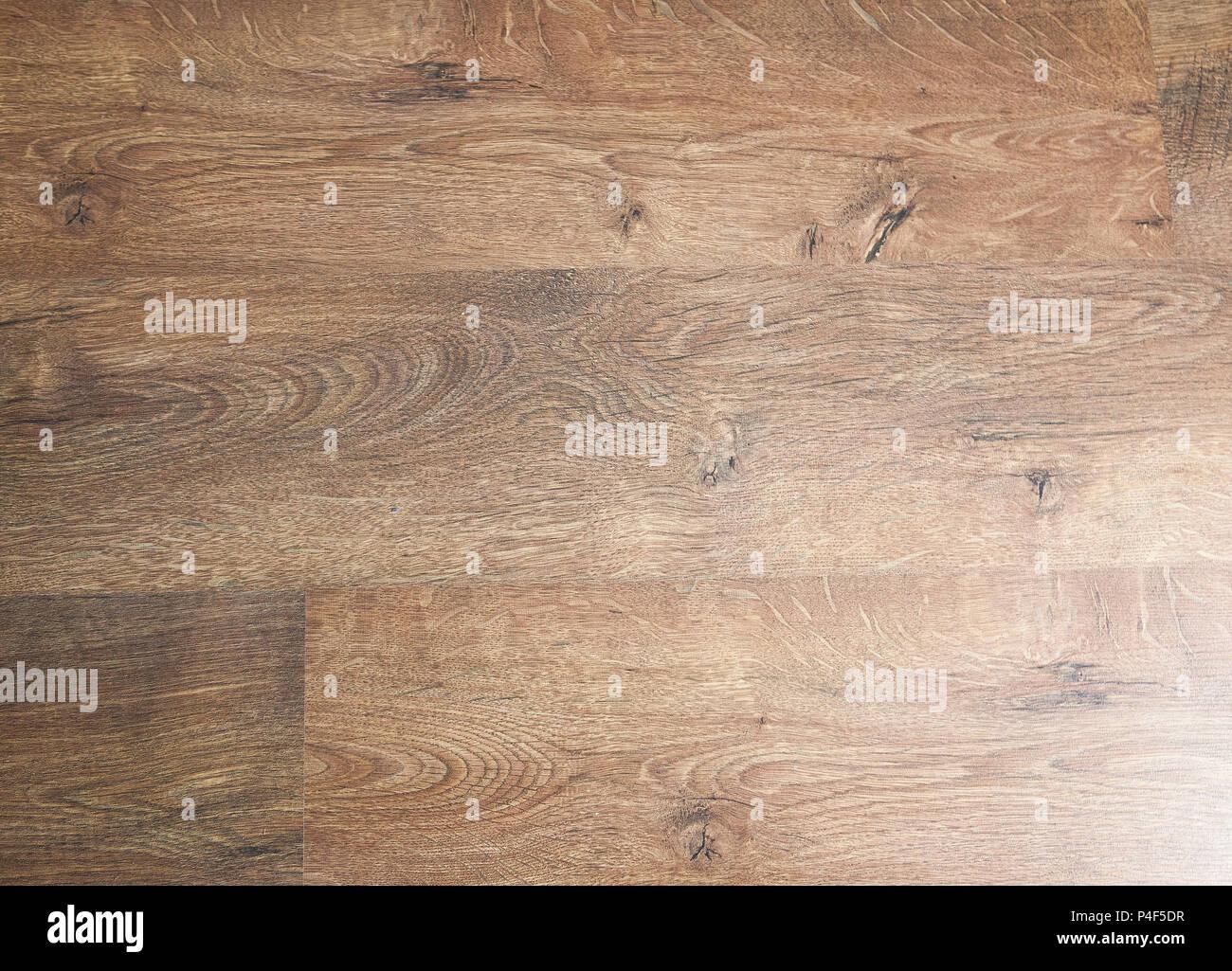 Eiche Dunkel Holzboden Parkett Parkett Eiche Laminat Stockfoto