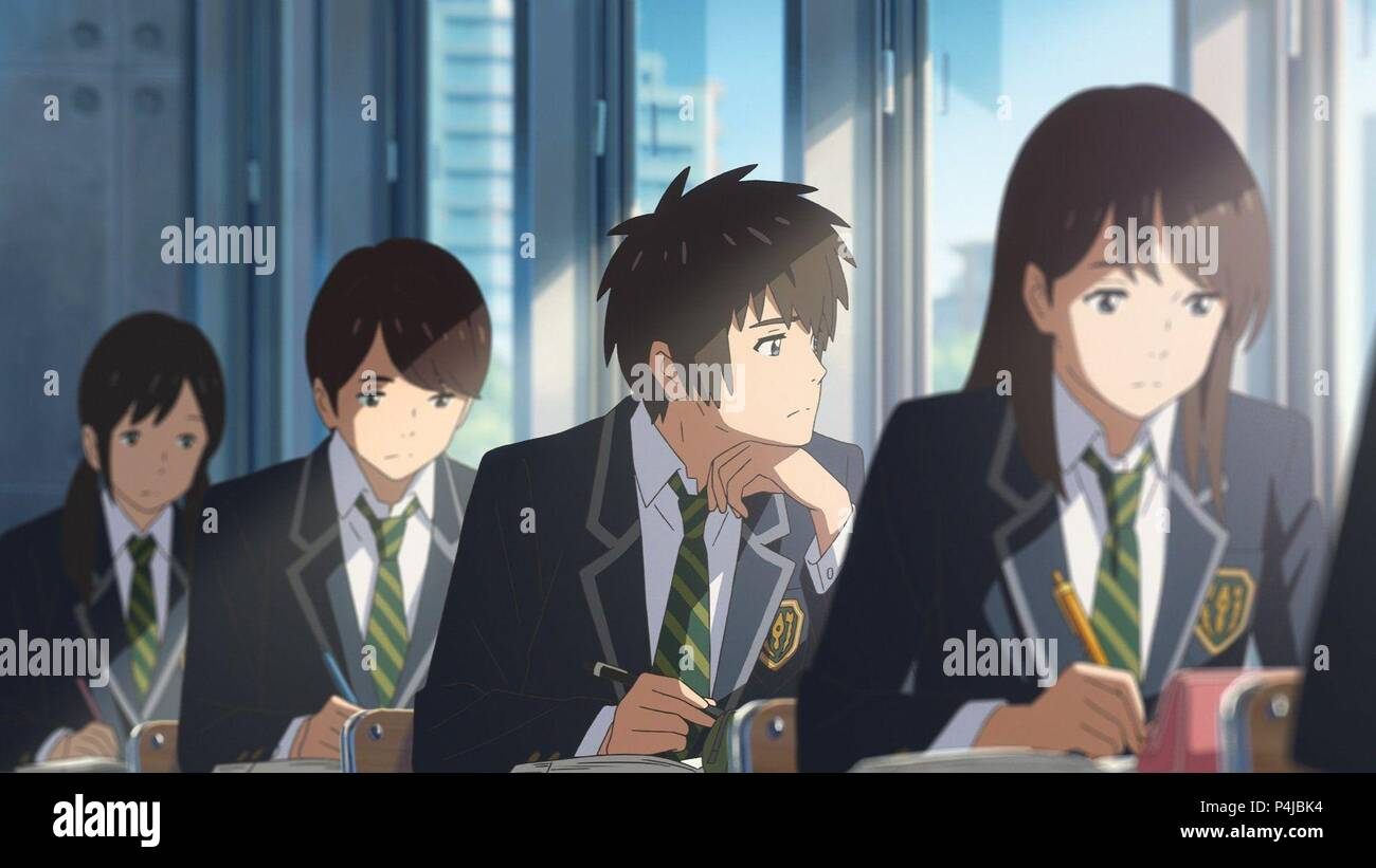 Original Film Titel Kimi No Na Wa Englischer Titel Ihr Name Film