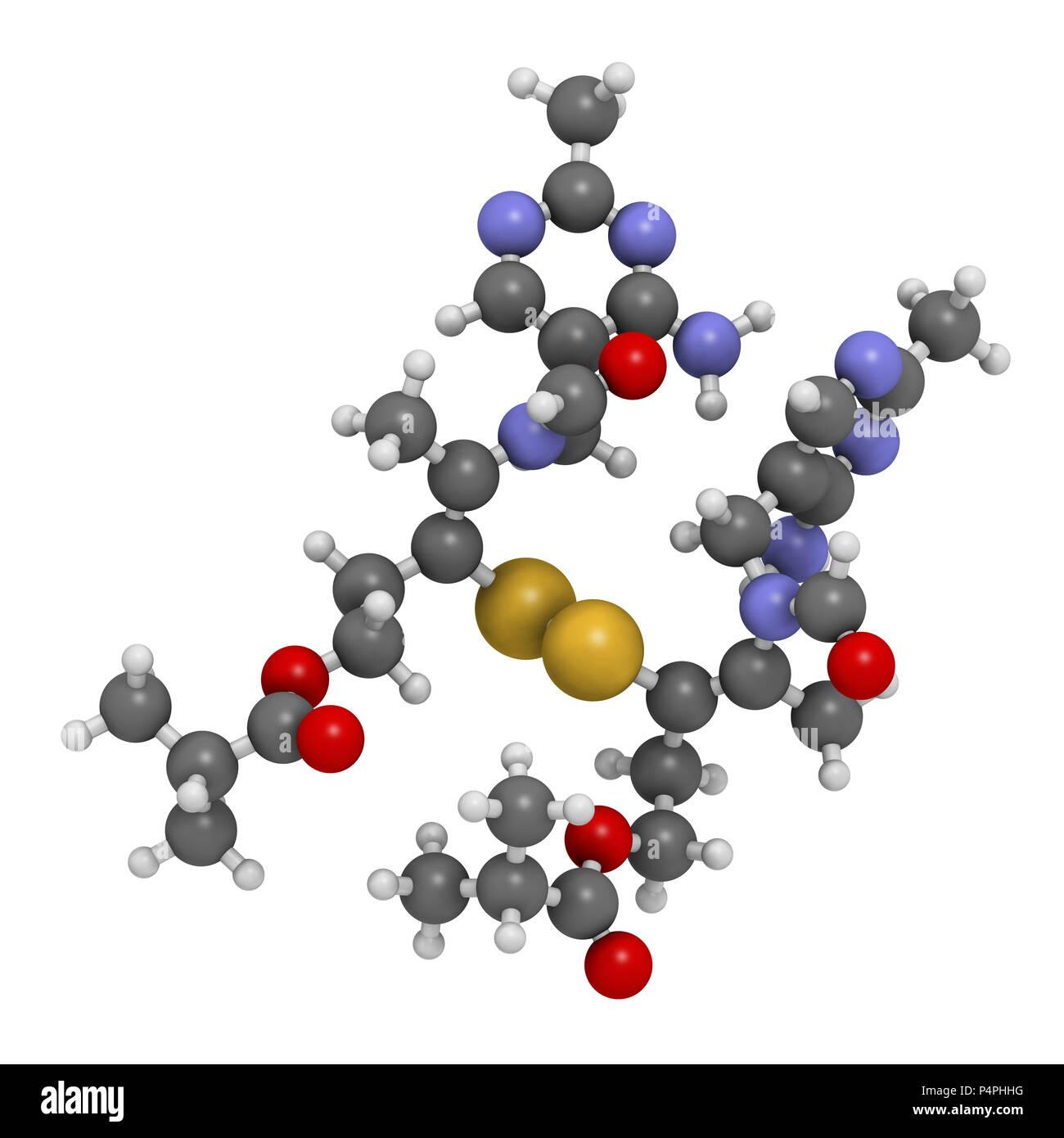 Sulbutiamine Asthenie Wirkstoffmolekül. Auch verwendet in ...