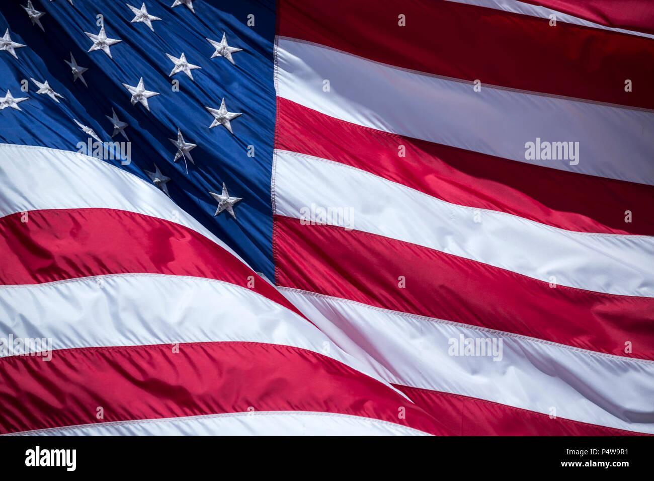 Kühlen, modernen Hintergrund, isolierte USA Flagge aus