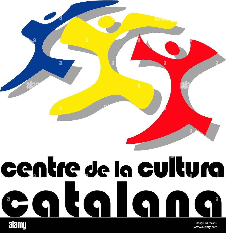 Logotipo De Centre De Cultura Catalana Dandorra Stockfoto Bild
