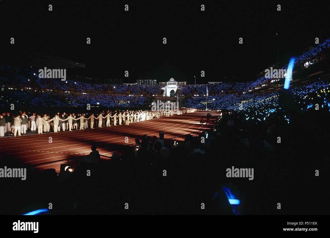 Ceremonia De Inauguracion De Los Juegos Olimpicos De Barcelona 92