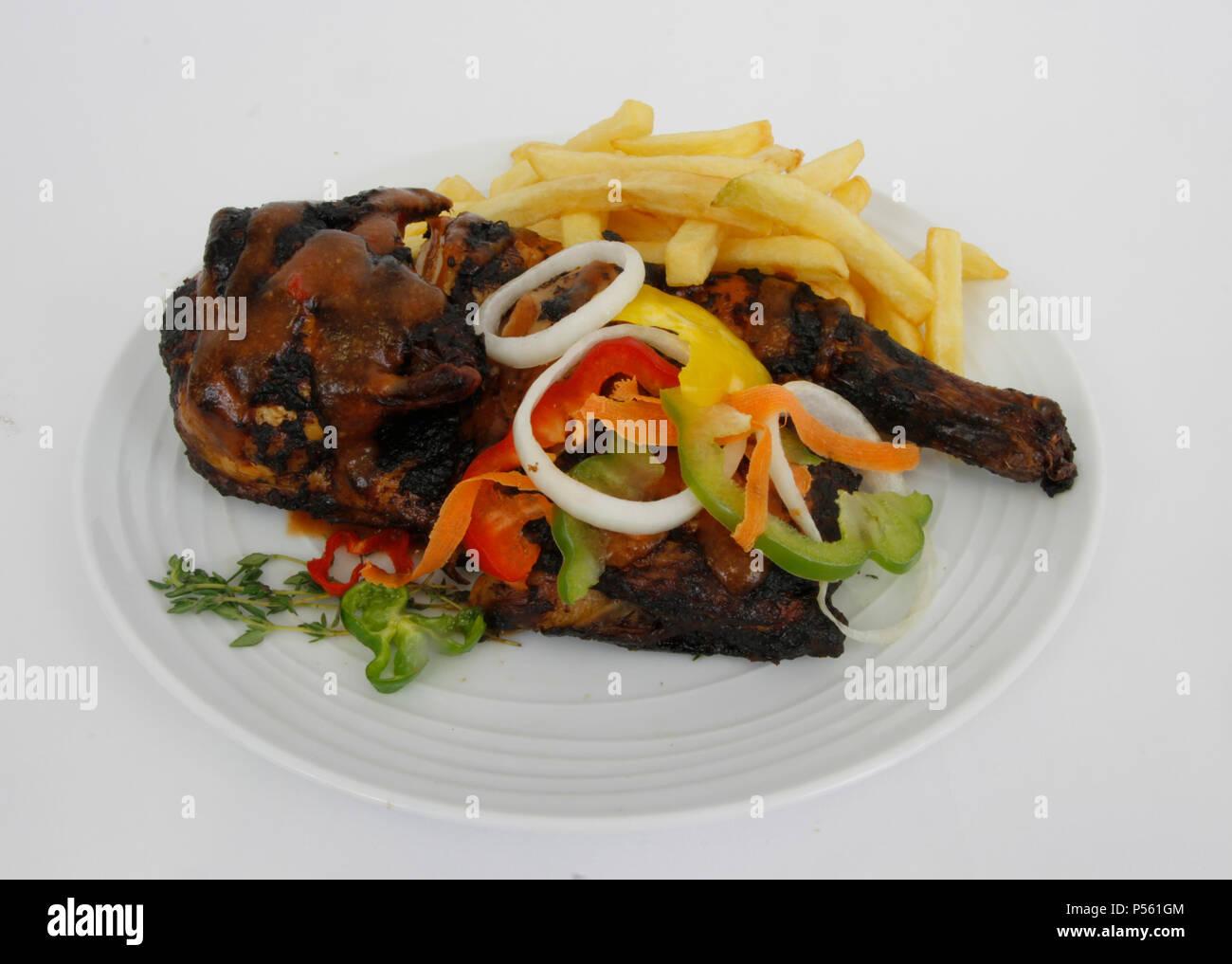 Traditionelle karibische Küche Stockfoto, Bild: 209730660 - Alamy