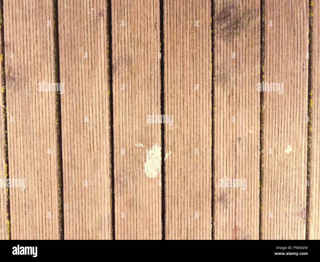 Schmutzige Alte Verwitterte Ausserhalb Holzbrett Wand Terrasse