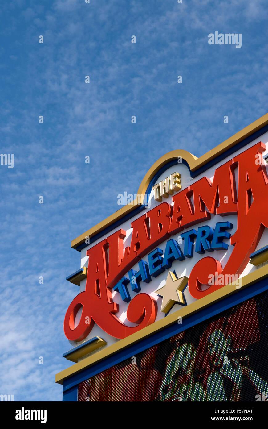 Alabama Theater an Barefoot Landing North Myrtle Beach, SC USA ...