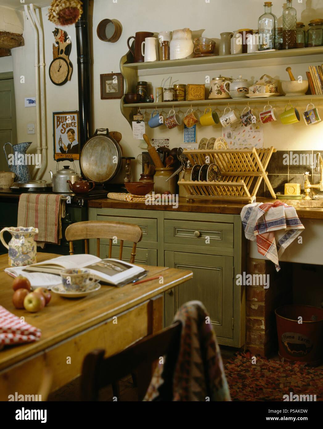 Bekannt Altmodische cottage Küche Stockfoto, Bild: 209832501 - Alamy VW13