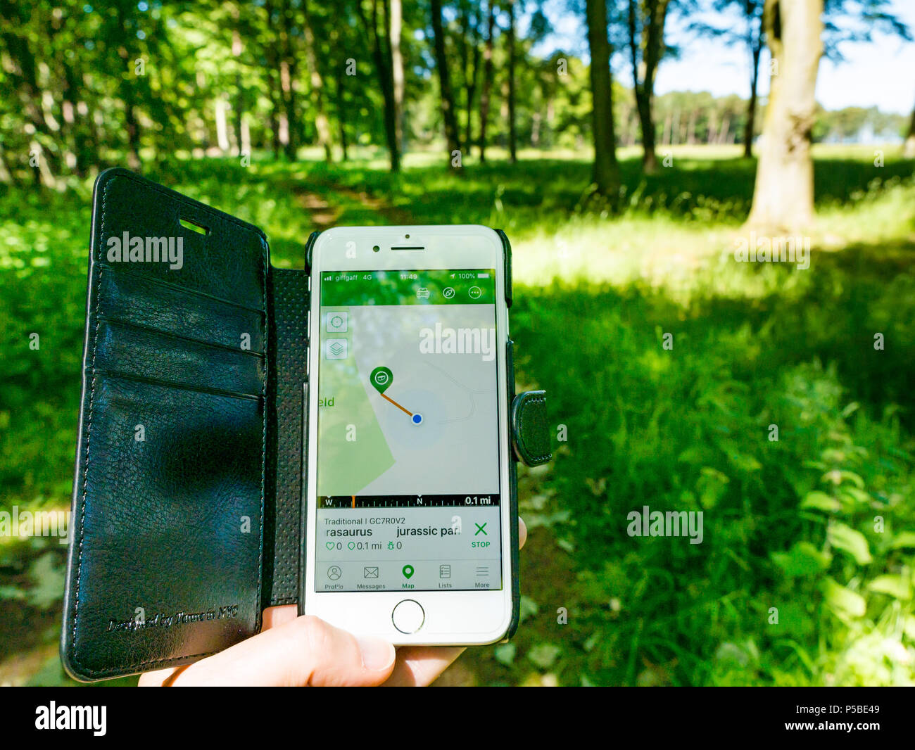 geocaching app karte