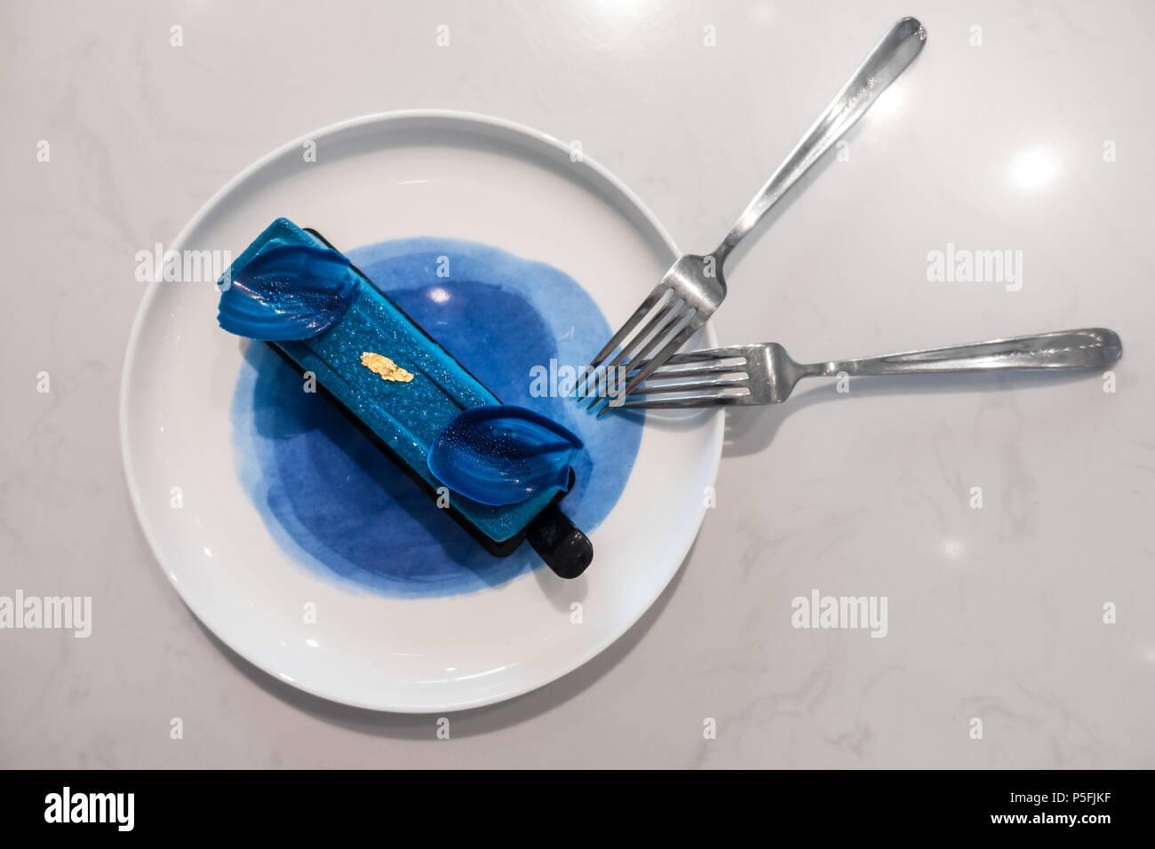 Groß China Küche Blau Federn Mo Bilder - Küchen Design Ideen ...