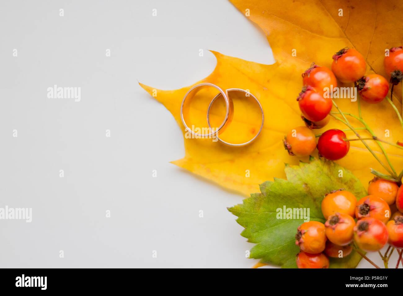 Kreative Saisonale Herbst Hintergrund In Der Nahe Von Ahorn Blatter