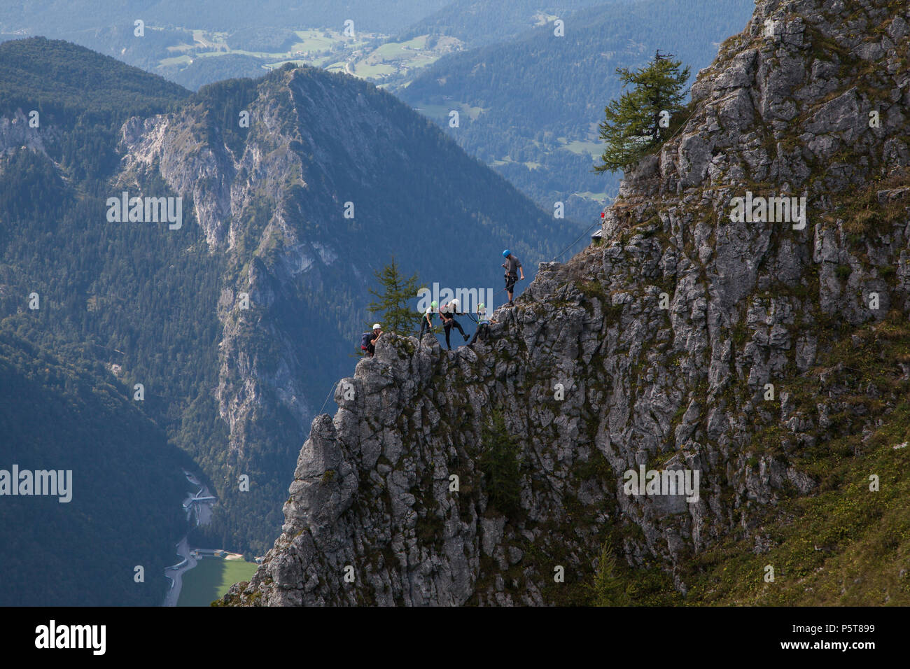 Klettersteig Jenner : Klettersteig am jenner berchtesgadener land bergpanorama