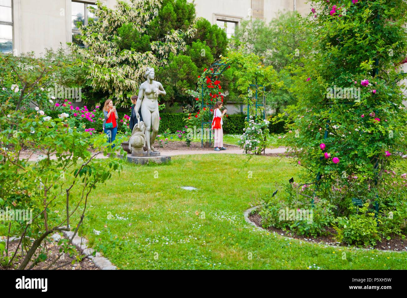 Der botanische Garten Jardin des Plantes, Paris, Frankreich ...