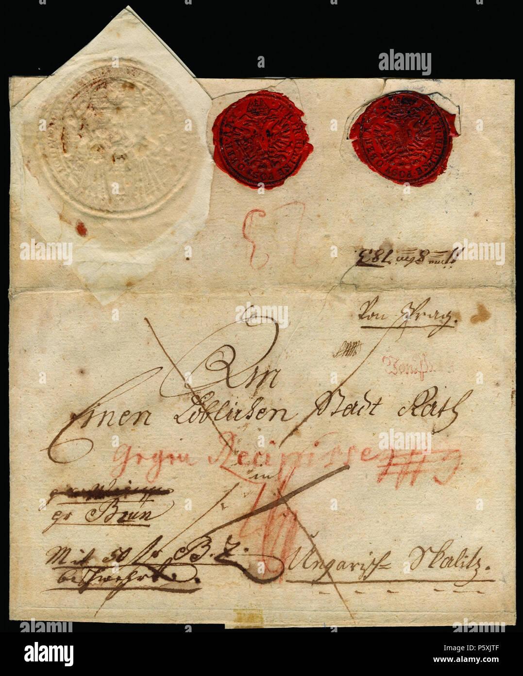 Na Englisch Eine Einzigartige Geld Brief Mit 50 Gulden In Form