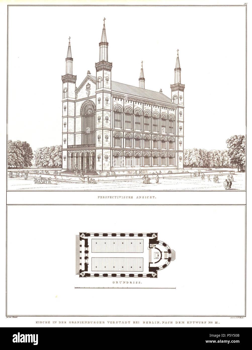 Na Englisch Architectural Design Nr Iii Für Eine Kirche In Der