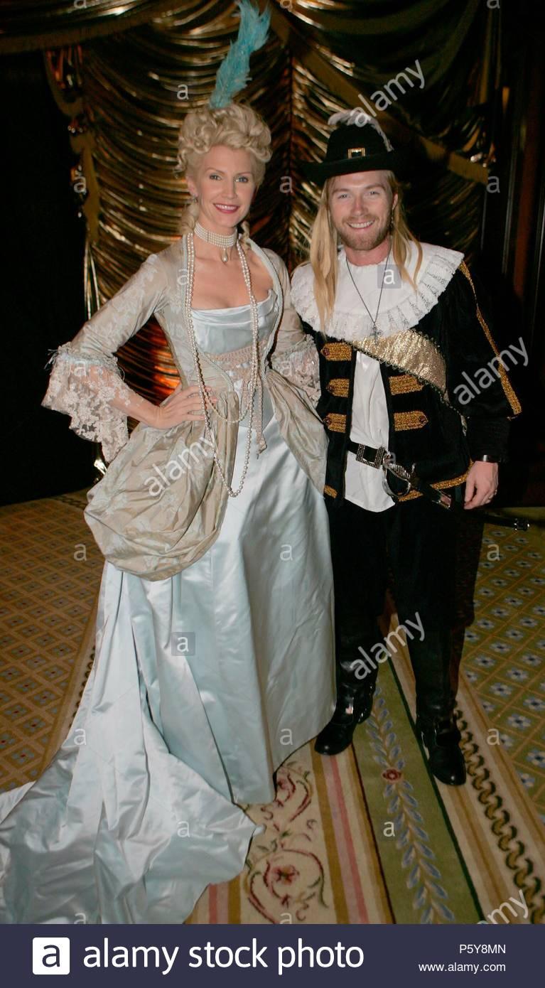 Yvonne Und Ronan Keating Am 50 Geburtstag Stockfoto Bild