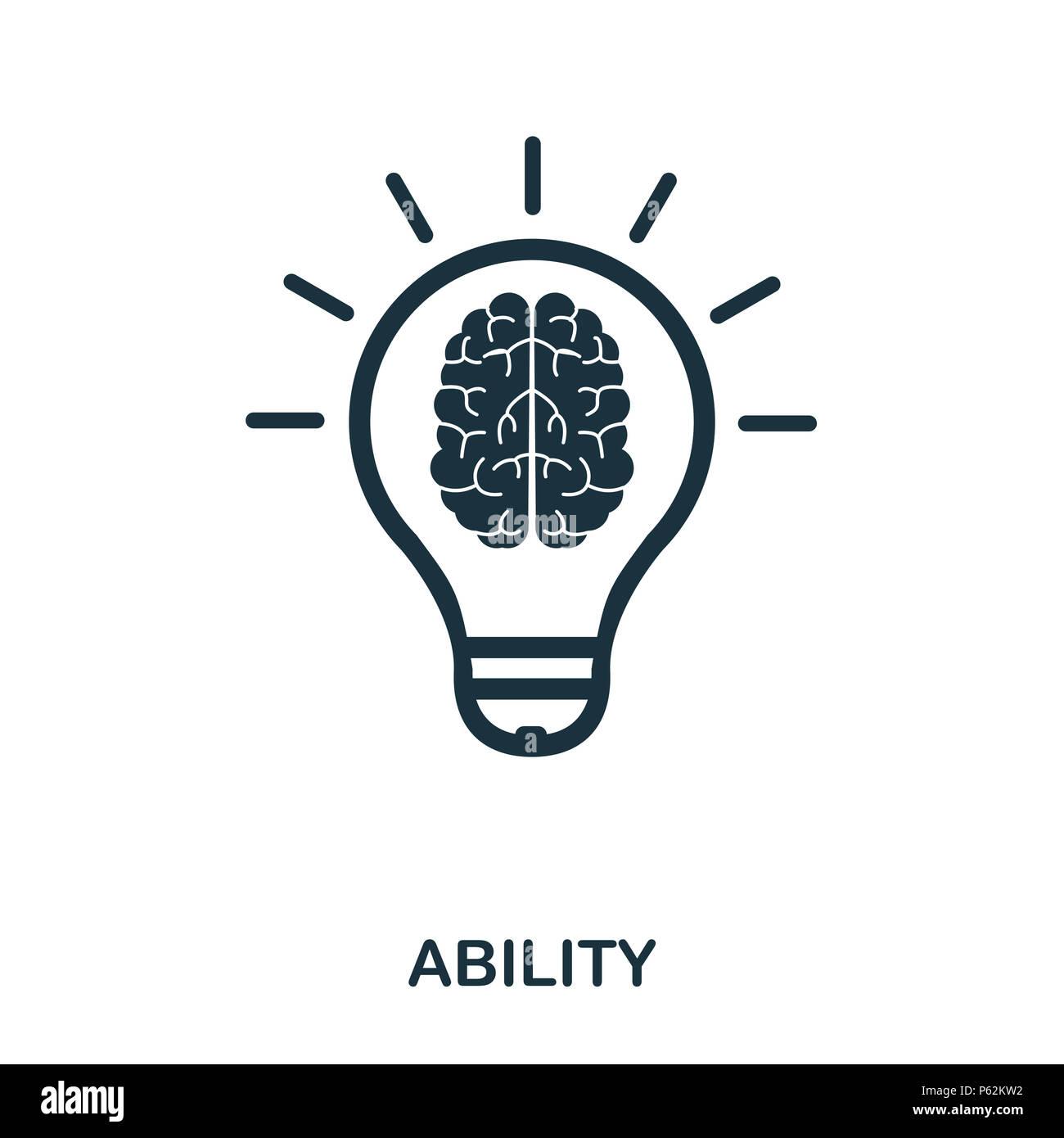 Fähigkeiten Symbol