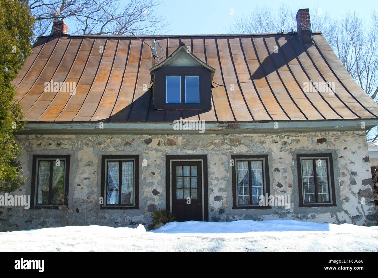 Dachgaube Dach Haus Himmel Architektur Stockfotos