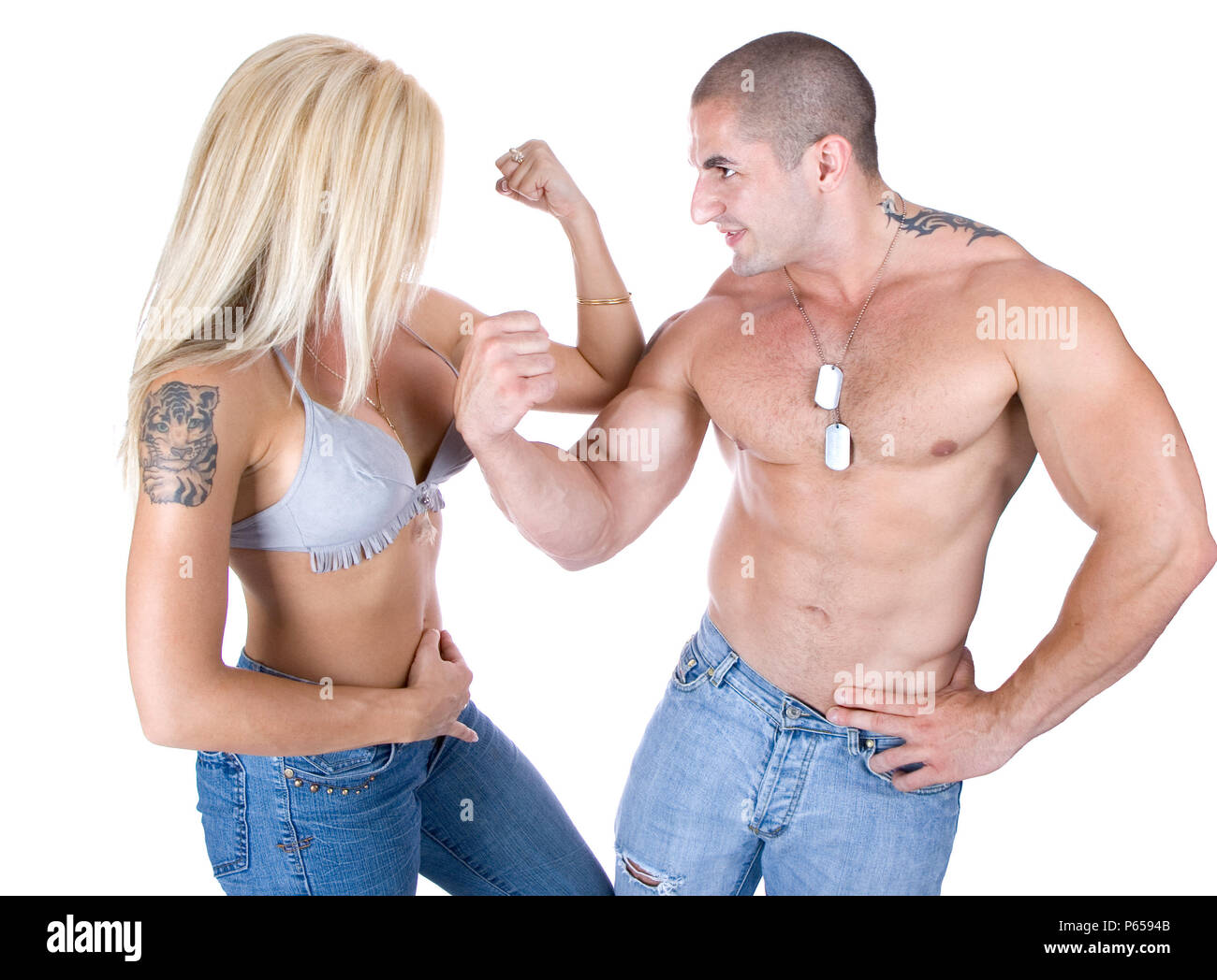 Frau stärker als mann