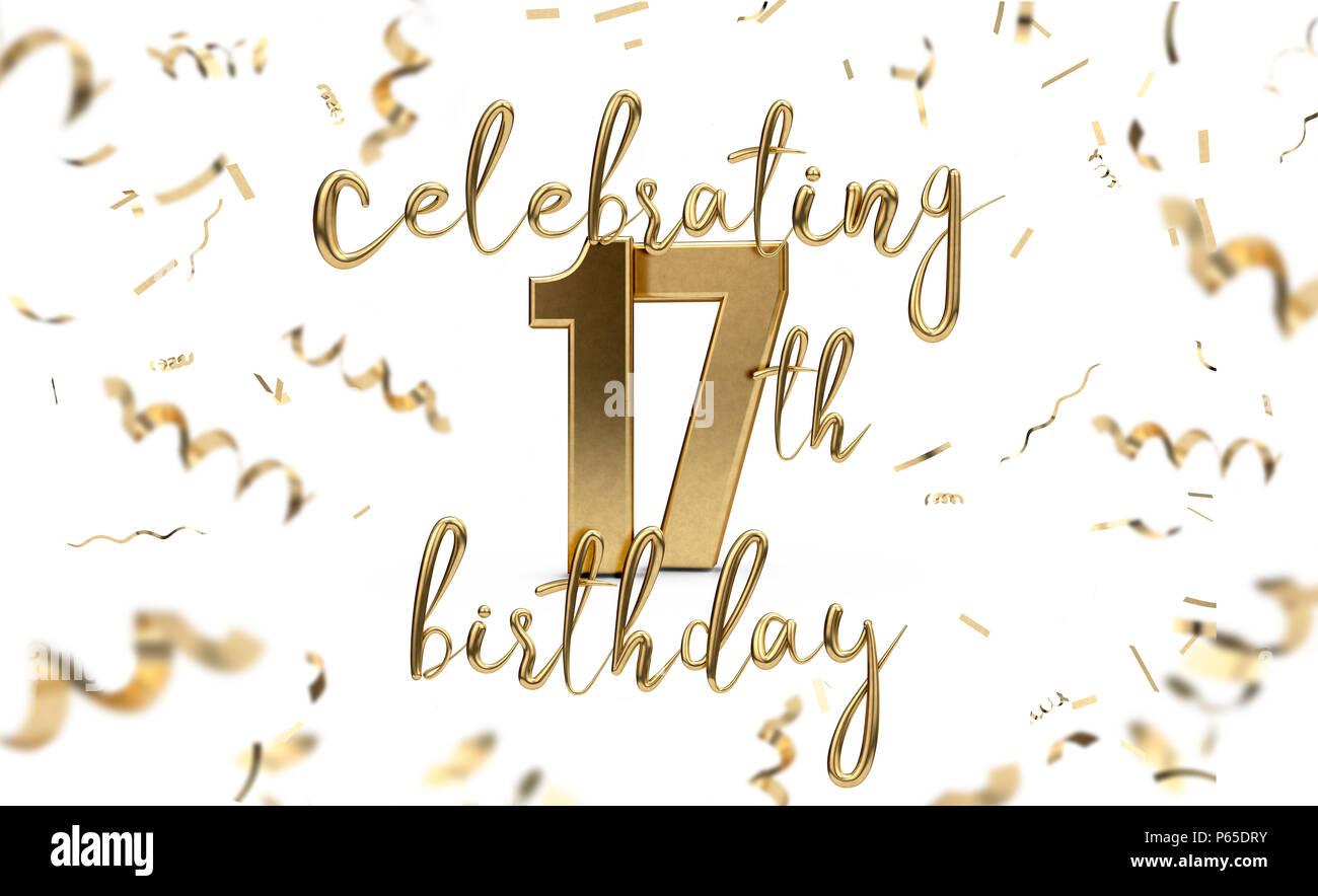 17. Geburtstag Feiern