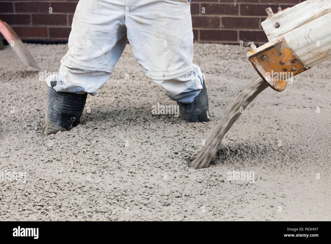 Bodenbelag Giessen Giessen Von Beton Fur Den Boden Eine