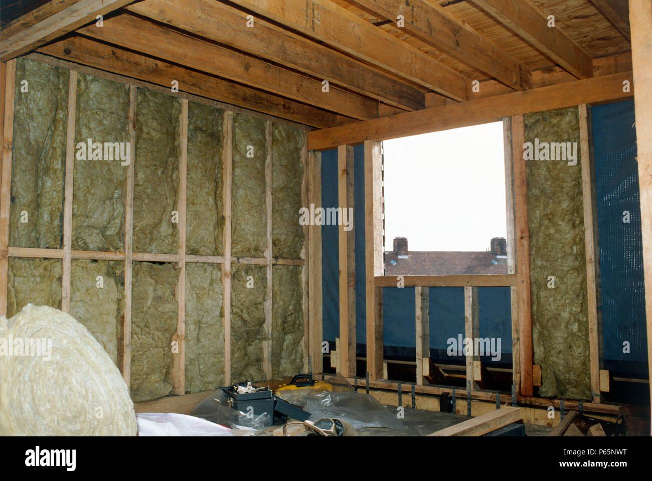 Dachboden Isolierung Stockfoto Bild 210339300 Alamy