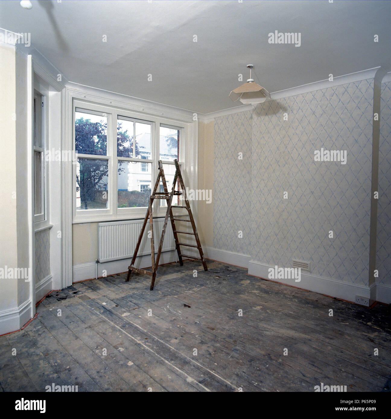 Bare Room Interior Decorating Stockfotos & Bare Room Interior ...