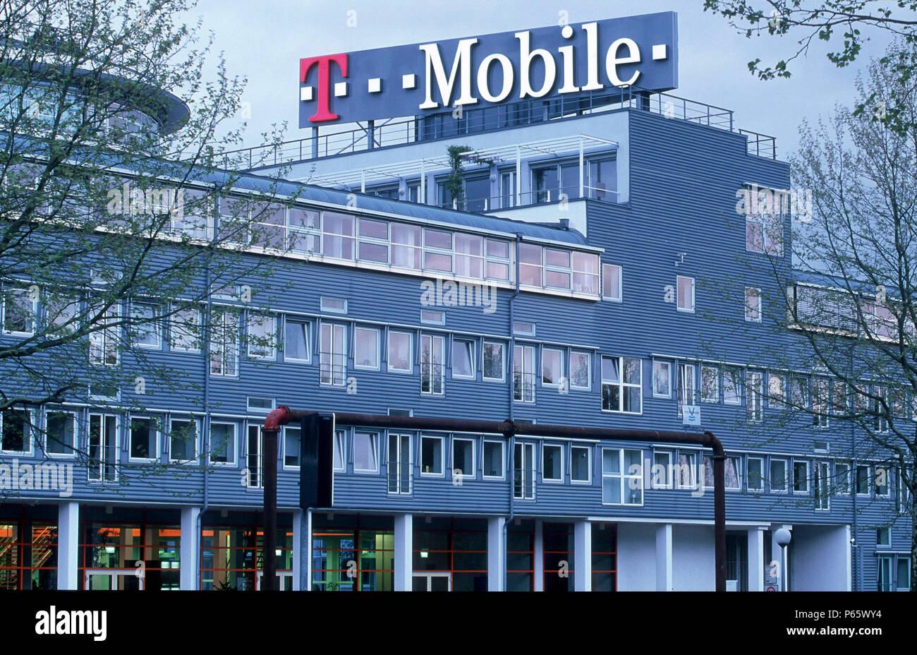Zentrale Der T Mobile In Bonn Deutschland Stockfoto Bild