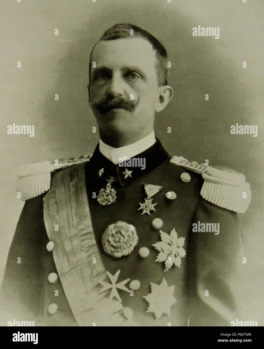 Viktor Emanuel Iii Von Italien 1869 1947 Mitglied Des Hauses