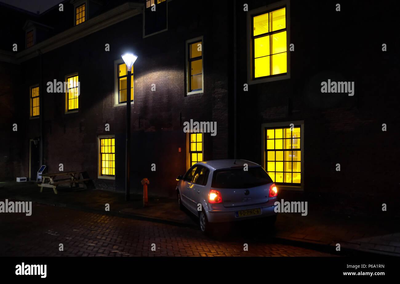 Licht Tour Amsterdam : Light art installation auf amsterdam licht festival stockfoto