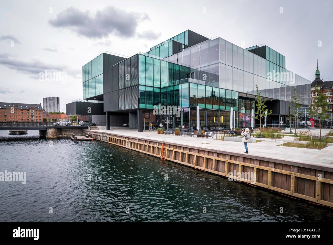 Kopenhagen Dänemark 21 Juni 2018 Blox Ist Ein Massives Gebäude