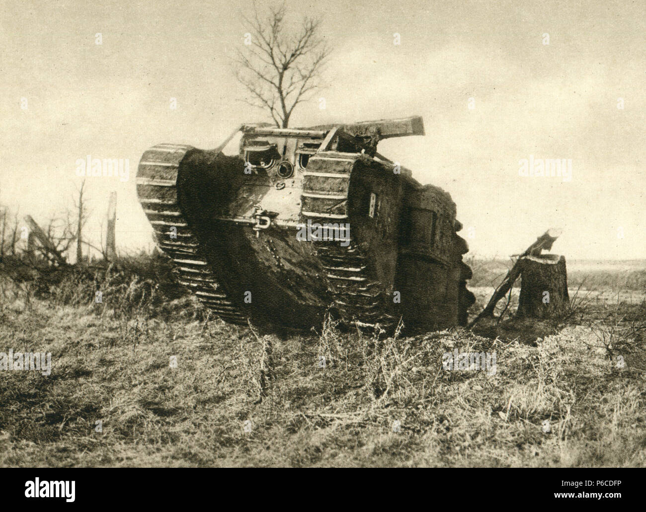 6173b01f741b9 Ww1 Tank Stockfotos   Ww1 Tank Bilder - Alamy