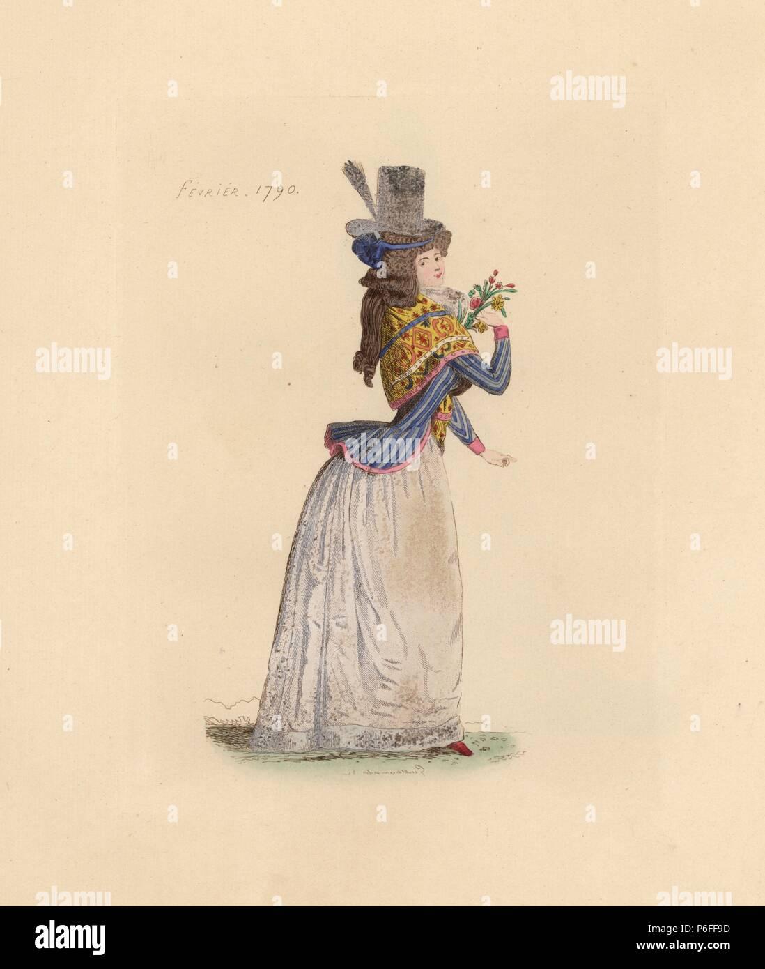 Kostume Der Franzosischen Revolution Stockfotos Kostume Der