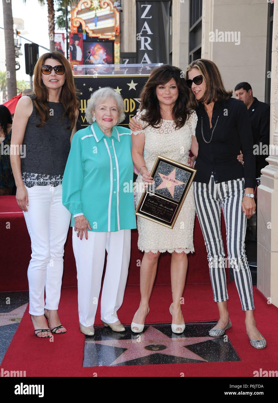 Betty White Walk Of Fame Stockfotos Und Bilder Kaufen Alamy
